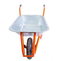 Тачка садово-строительная 100 л/ 180 кг, двухколесная, Mastertool