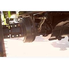 Барабан тормозной DW120/120B/120BM, ДТЗ
