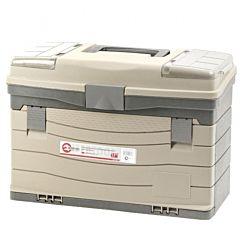 """Многофункциональный органайзер пластиковый для метизов, 17"""", 435x235x300 мм, BX-4017, INTERTOOL"""