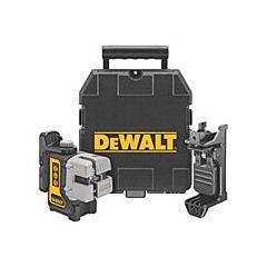 Лазер самовыравнивающийся 3-х плоскостной DW089K, DeWALT