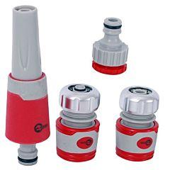 Насадка для полива, адаптер универсальный для коннектора, INTERTOOL