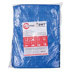Тент водонепроницаемый, полипропиленовый (тарпаулин), 4*5 м с люверсами, AB-0405, INTERTOOL