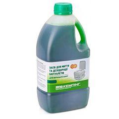 Средство для дезодорации биотуалетов (для верхнего бака) 1.6 л, Кемпинг