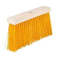 Метла уличная 290*50*150 мм ПЭ+ПВХ+ПП деревянная без ручки, Mastertool