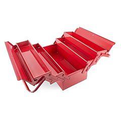 Ящик для инструментов металлический 450 мм, 5 секций, HT-5045, INTERTOOL