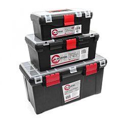 Комплект ящиков для инструментов, 3 шт, BX-0003, INTERTOOL
