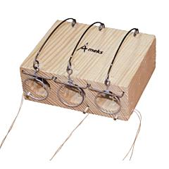 Мышеловка - норка тройная деревянная 100*40*80 мм, Mastertool