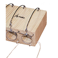 Мышеловка - норка двойная деревянная 80*40*80 мм, Mastertool