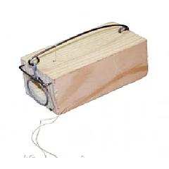 Мышеловка - норка одинарная деревянная 35*35*80 мм, Mastertool