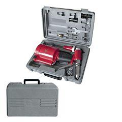Пистолет заклепочный пневматический в чемодане с аксессуарами PT-1304, INTERTOOL