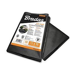 Агроволокно 50 гр/м², черное, пакет, Bradas