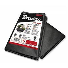 Агроволокно, 80 гр/м², черное, пакет, Bradas