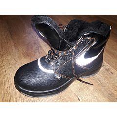 Рабочие ботинки утепленные NEO кожанные, NEO Tools
