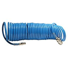Шланг спиральный полиуретановый 5.5x8мм, 20м PT-1709, INTERTOOL