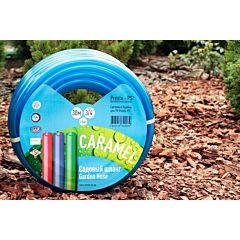 Шланг поливочный садовый Caramel (синий) диаметр 3/4 дюйма (CAR B-3/4), Presto-PS