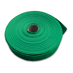 "Шланг AGRO-FLAT W.P.3, 1"", GREEN, Bradas"