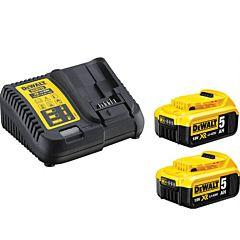 Устройство зарядное с двумя аккумуляторами DCB115P2, DEWALT