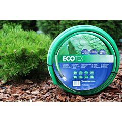 Шланг поливочный садовый Tecnotubi ECO TEX 3/4 дюйма 50 м  (ET 3/4 50), Presto-PS