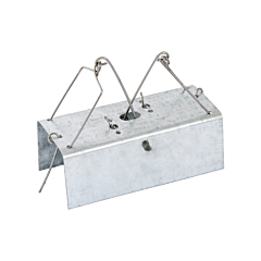 Мышеловка - домик металлическая, 95*35*40 мм, Mastertool