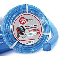 """Шланг для воды 3-х слойный 3/4"""", 30 м, армированный PVC GE-4075, INTERTOOL"""