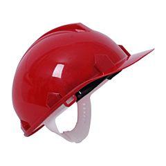 Каска защитная красная, TOPEX