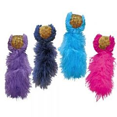 Игрушка мяч ковровый для котов, KONG