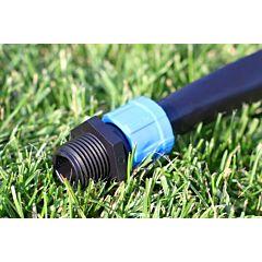Стартер для капельной ленты с резьбой, Presto-PS, 10 штук