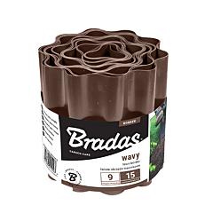 Бордюр волнистый коричневый, Bradas
