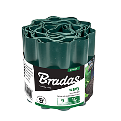 Бордюр волнистый зеленый, Bradas