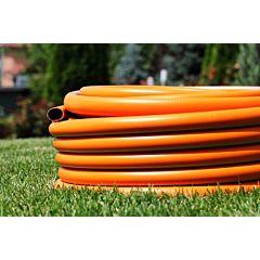 Шланг поливочный садовый Tecnotubi Euro Guip Orange Professional диаметр 5/8 дюйма (OR 5/8), Presto-PS