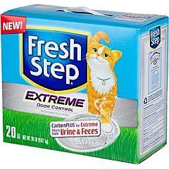 Глиняный наполнитель для кошек Extreme Odor Control, Fresh Step