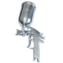 Пистолет покрасочный пневматический 1,5 мм, верхний бачок 400 мл PT-0202, INTERTOOL