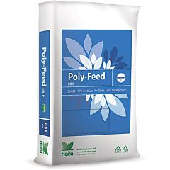 Водорастворимое удобрение NPK Poly-Feed Drip 11-44-11 с микроэлементами, Haifa