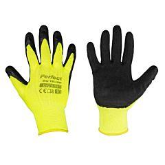 Защитные перчатки, PERFECT GRIP YELLOW, Bradas