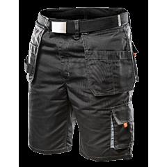 Шорты HD с холщовым ремнем и отстегивающимися карманами, NEO Tools
