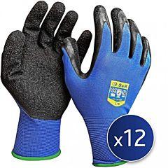 Набор перчаток L/9 нейлоновые 12 шт. S&R