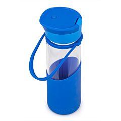 Стеклянная бутылка Enjoy Glass, 0,55 л, синяя, Aladdin