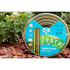 Шланг поливочный садовый Зебра диаметр 3/4 дюйма, длина 30 м (ZB 3/4 30), Presto-PS